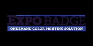 ExpoBadge logo - bezoekersbadges